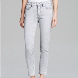 Not Your Daughters Jeans NYDJ Kimora Ankle Gray